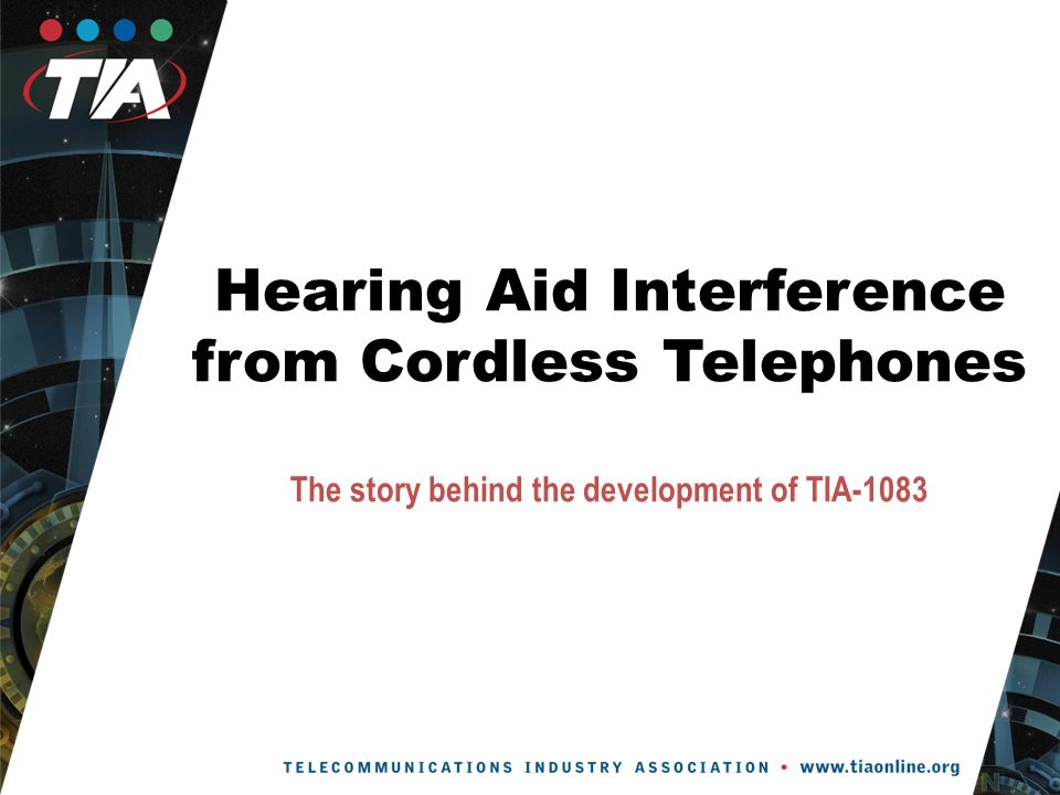 Consumer Complaints In 2004, telephone manufacturers began to receive customer complaints regarding hearing aid interference problems with digital cordless telephones.