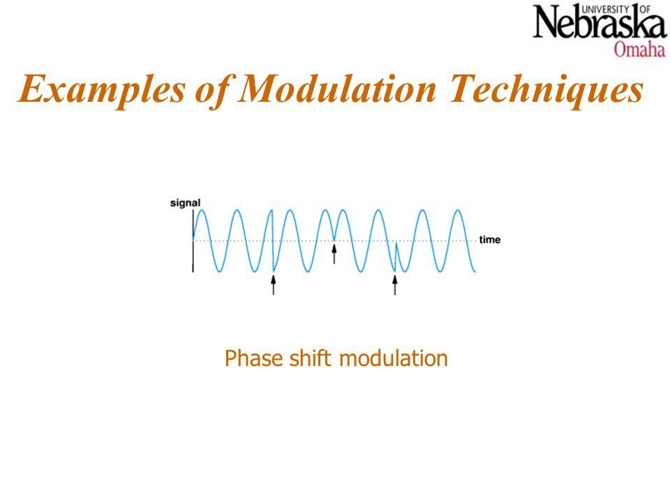 Carrier Frequencies and Multiplexing Multiple signals with data can be carried on the same medium without interference.