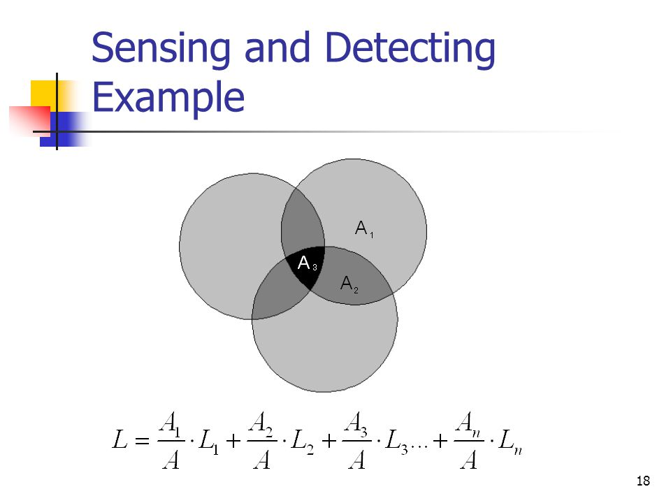 18 Sensing and Detecting Example