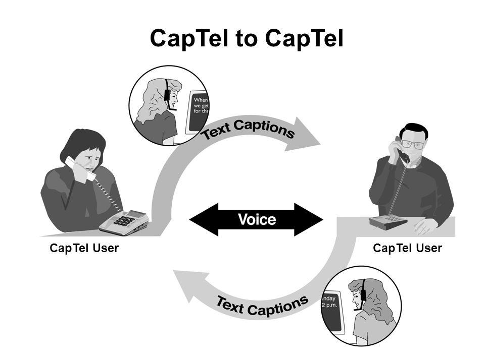 39 CapTel to CapTel CapTel User