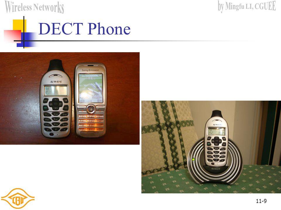 11-9 DECT Phone