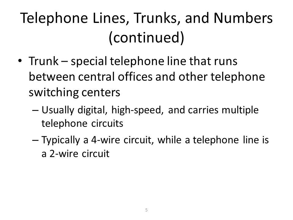26 Limitations of Telephone Signals POTS lines were designed to transmit the human voice, which has a bandwidth less than 4000 Hz A telephone conversation requires two channels, each occupying 4000 Hz