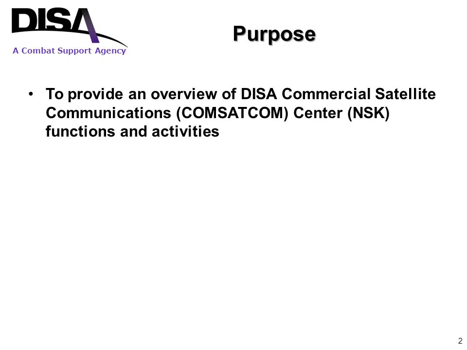 A Combat Support Agency MIPR-based COMSATCOM Acquisition Process