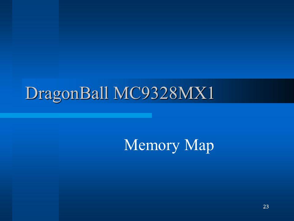23 DragonBall MC9328MX1 Memory Map
