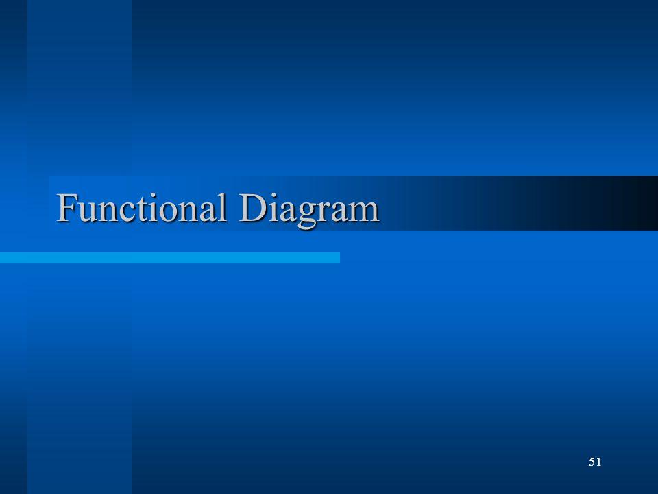 51 Functional Diagram