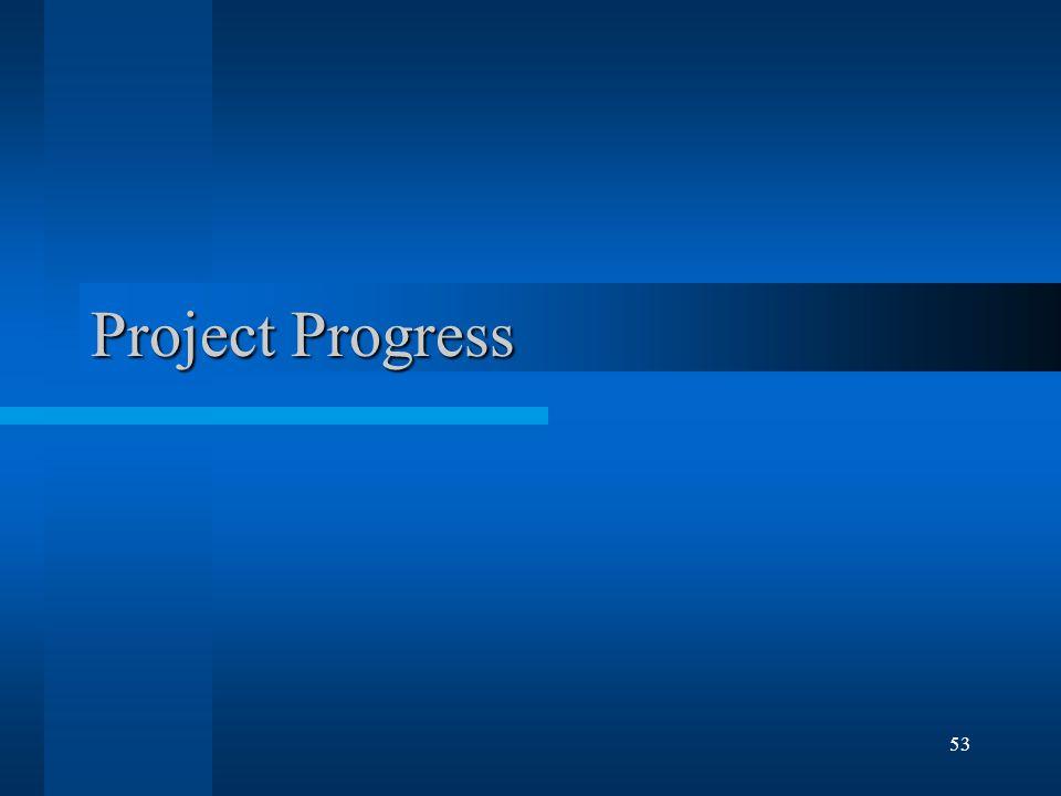 53 Project Progress