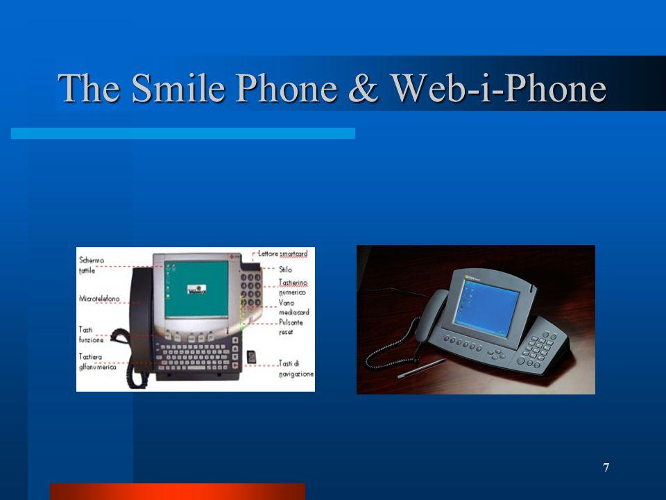 7 The Smile Phone & Web-i-Phone