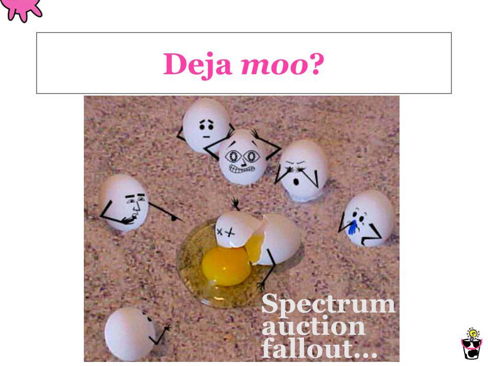 Deja moo Spectrum auction fallout...