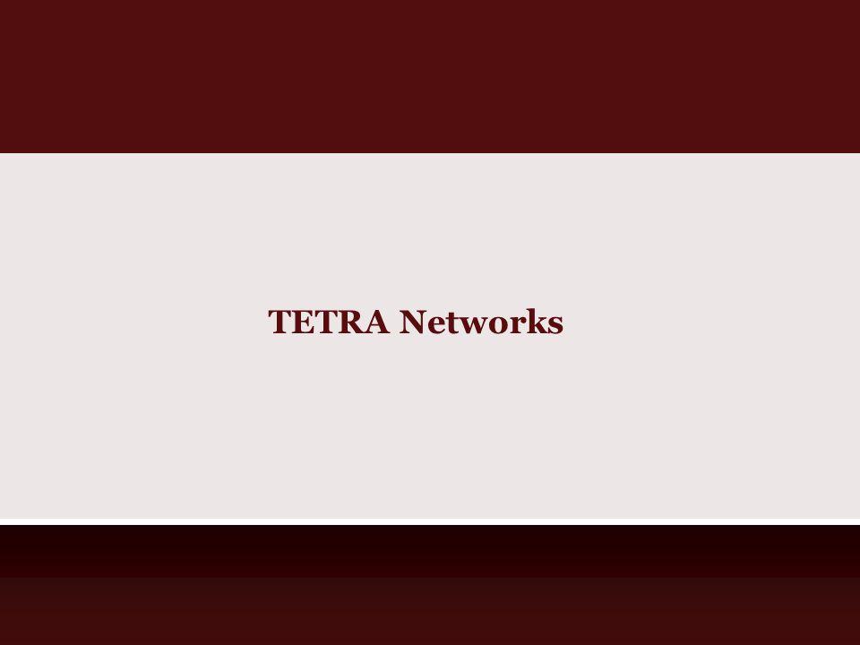 TETRA Networks