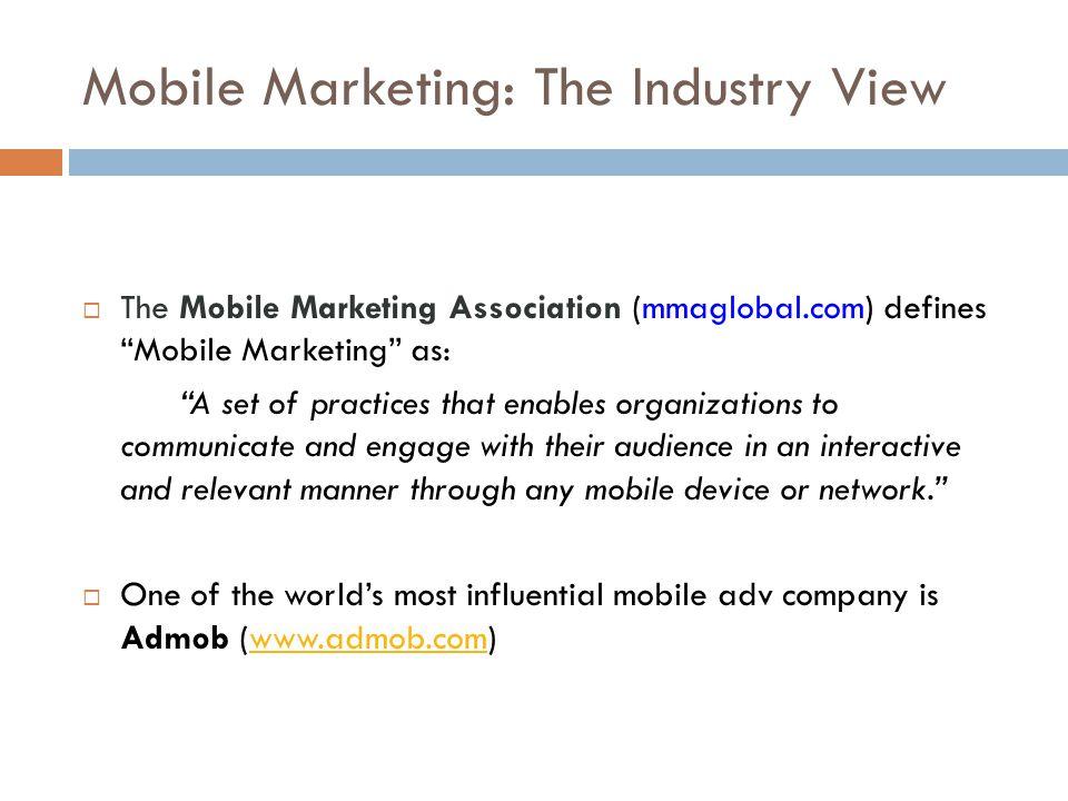Mobile vs Other Marketing Media Reach (Pakistan): Mobile = 105 million+ CPM = 10 euros