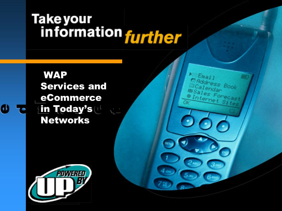 WAP Services and eCommerce in Today's Networks