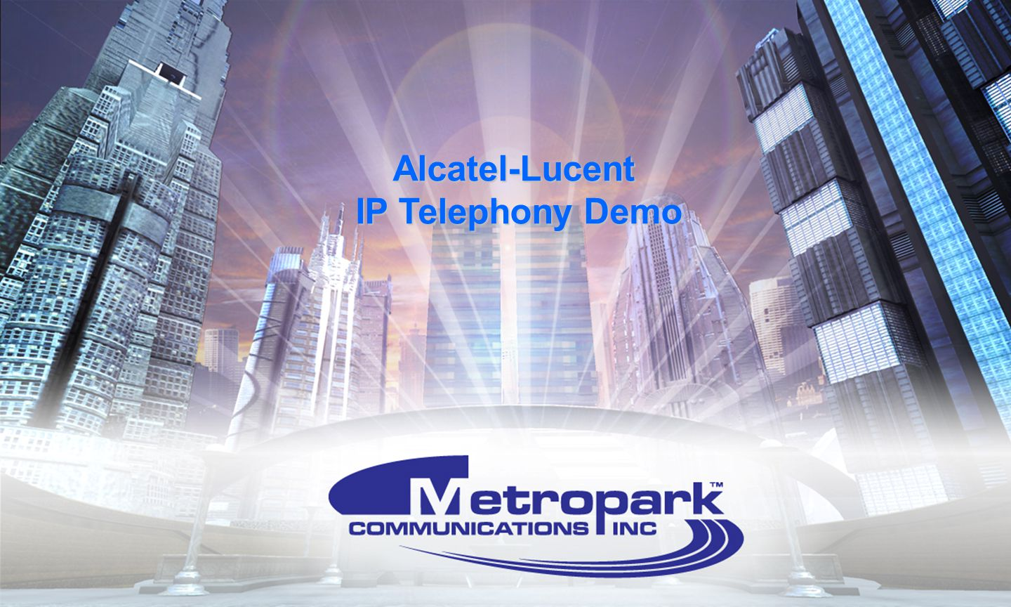 Alcatel-Lucent IP Telephony Demo