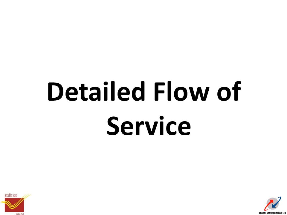 Detailed Flow of Service