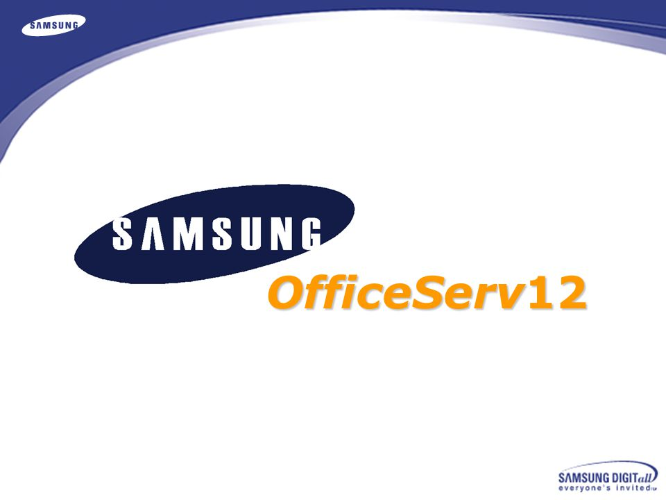 OfficeServ 12 Components