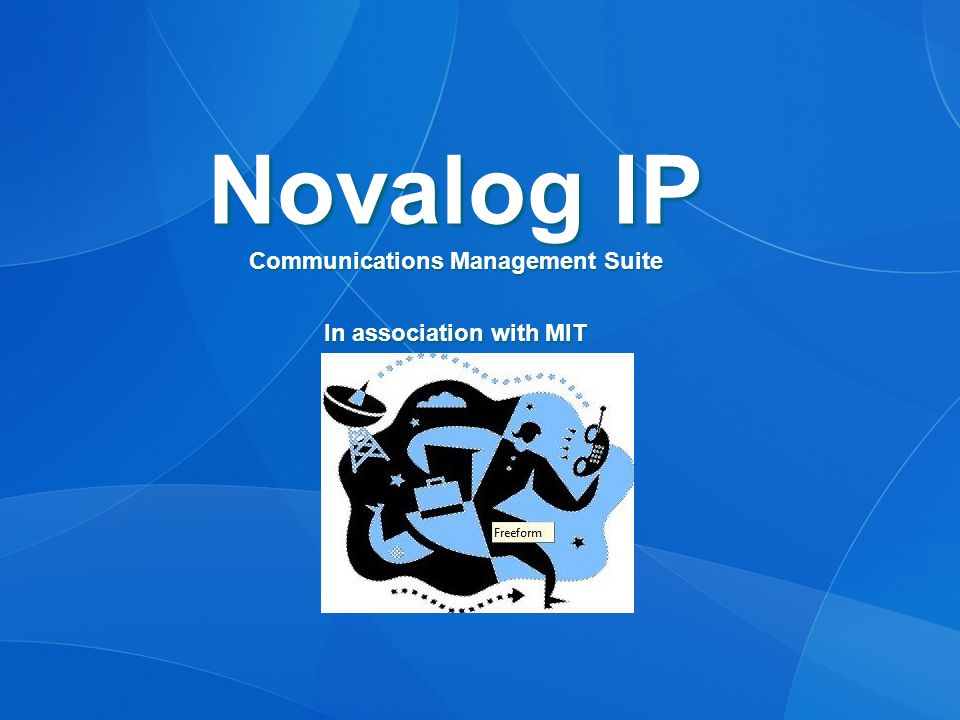 Novalog IP Suite: Alarm Sentinel 24 / 7 monitoring of PBX alarms via serial, IP or SNMP Delivers real-time detailed alarm information via e-mail and / or SMS text message notifications Alert procedure can be varied depending on time, day, PBX and alarm severity Provides secure web-based reports and statistics for all alarm events Optional monitoring of PBX room temperature