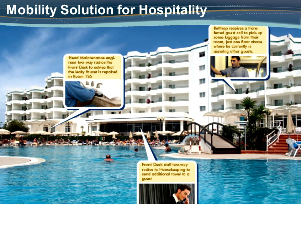 Mobility Solution for Hospitality