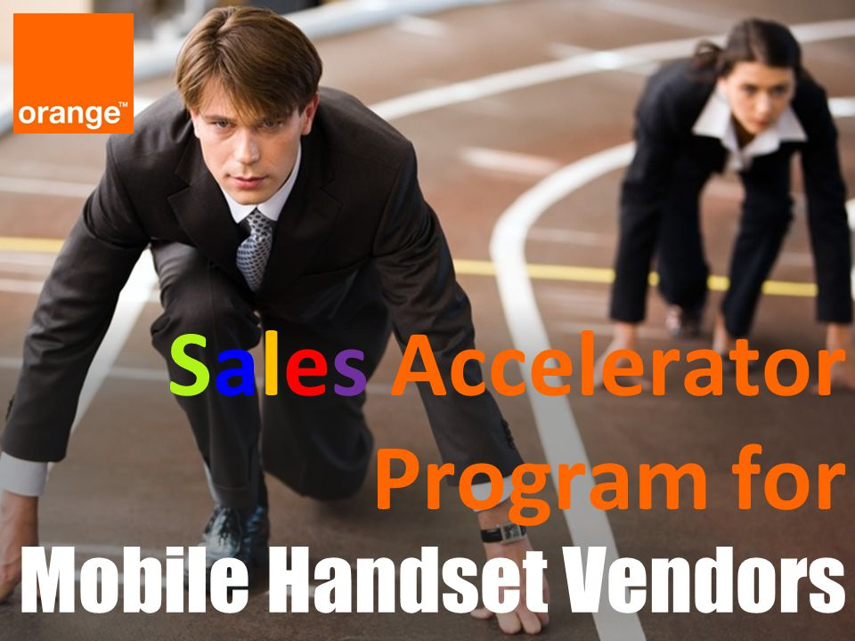 Sales Accelerator Program for Mobile Handset Vendors