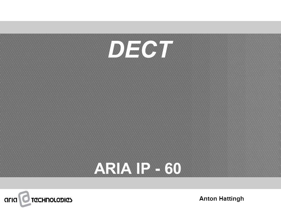 DECT ARIA IP - 60 Anton Hattingh