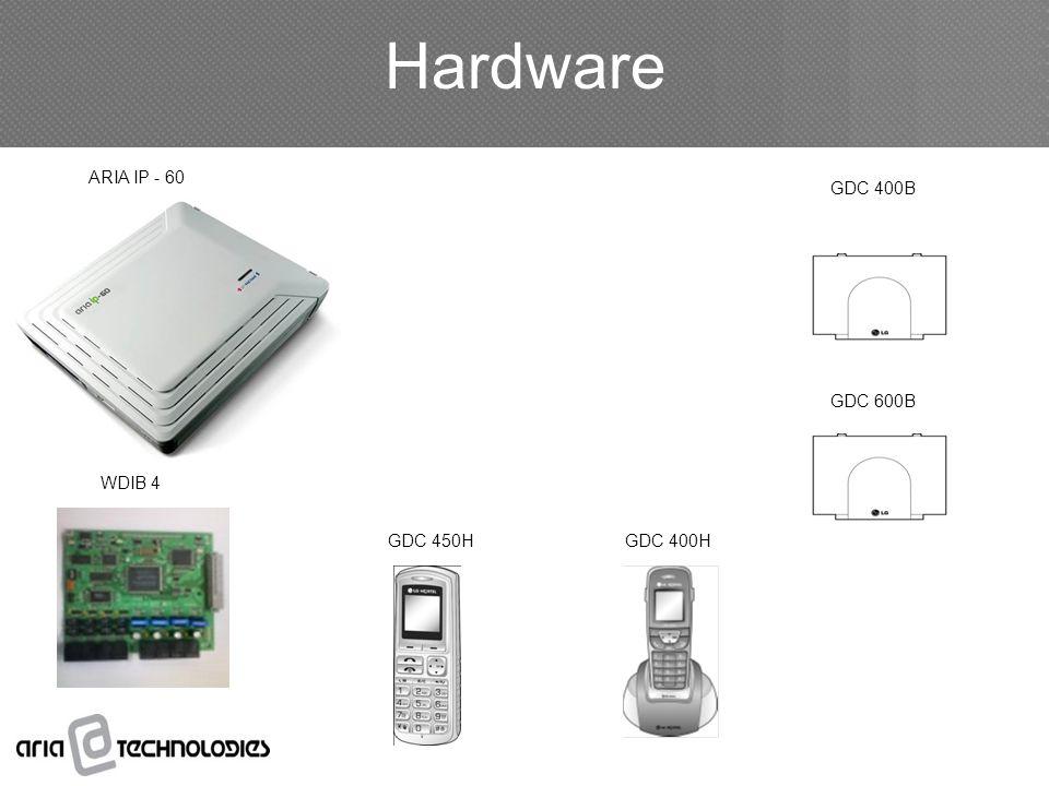 Hardware GDC 400B GDC 600B GDC 400H WDIB 4 ARIA IP - 60 GDC 450H