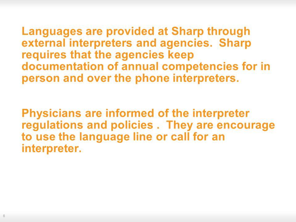 Interpretation tools –Dual Handset Phones.