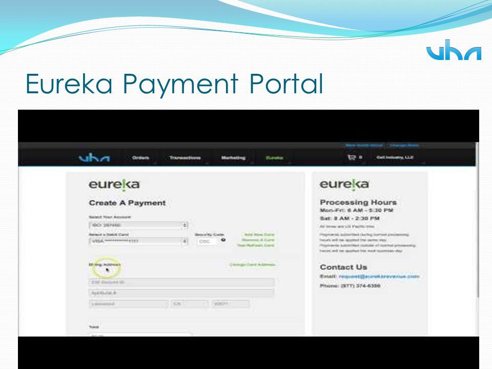Eureka Payment Portal