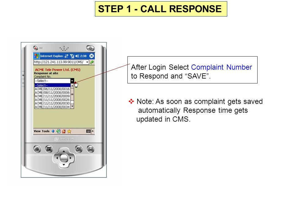 Select Complaint No.to be kept Open Select Proper Reason Ex.