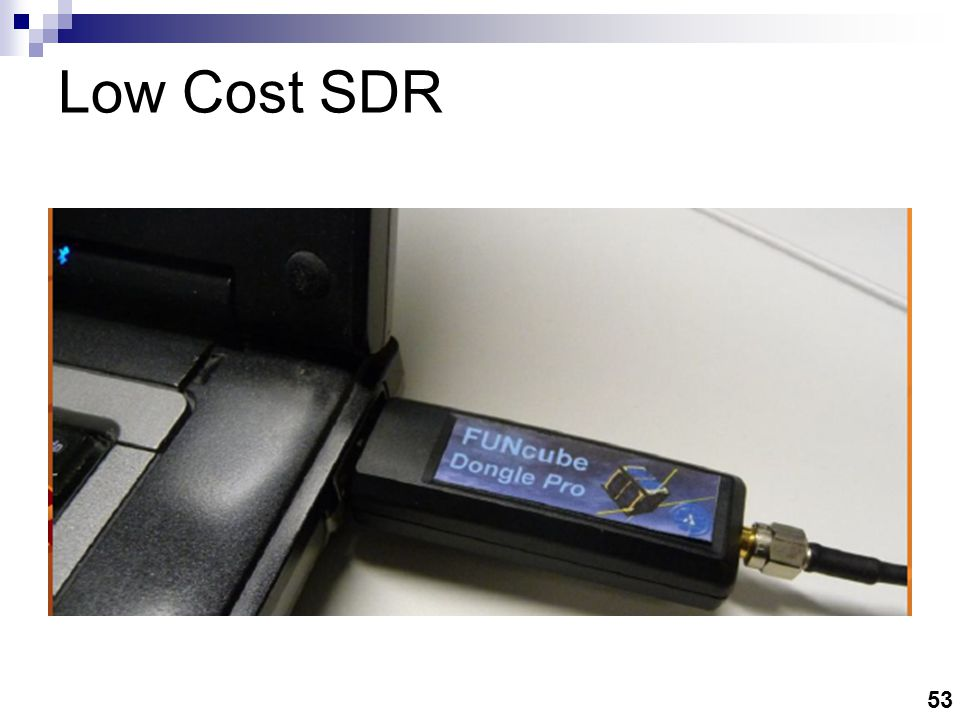 53 Low Cost SDR