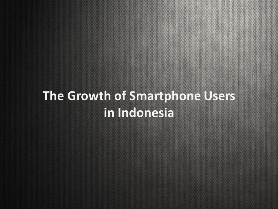 Smartphone Consumption In The Market