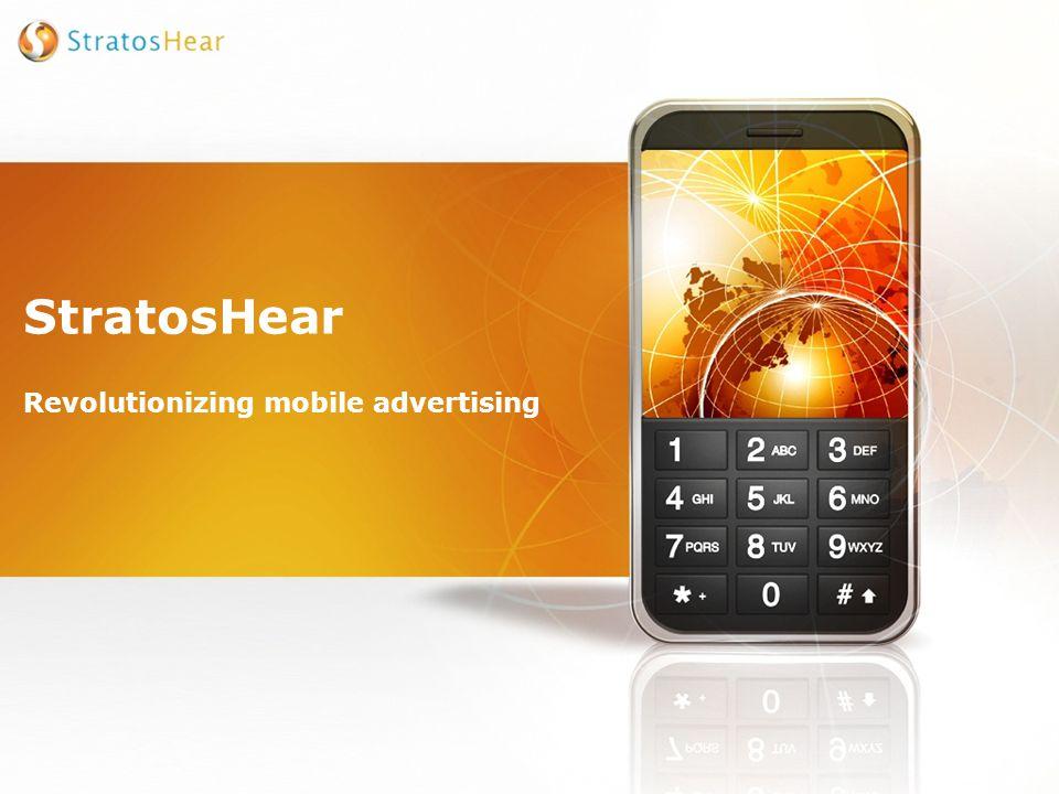 StratosHear Revolutionizing mobile advertising