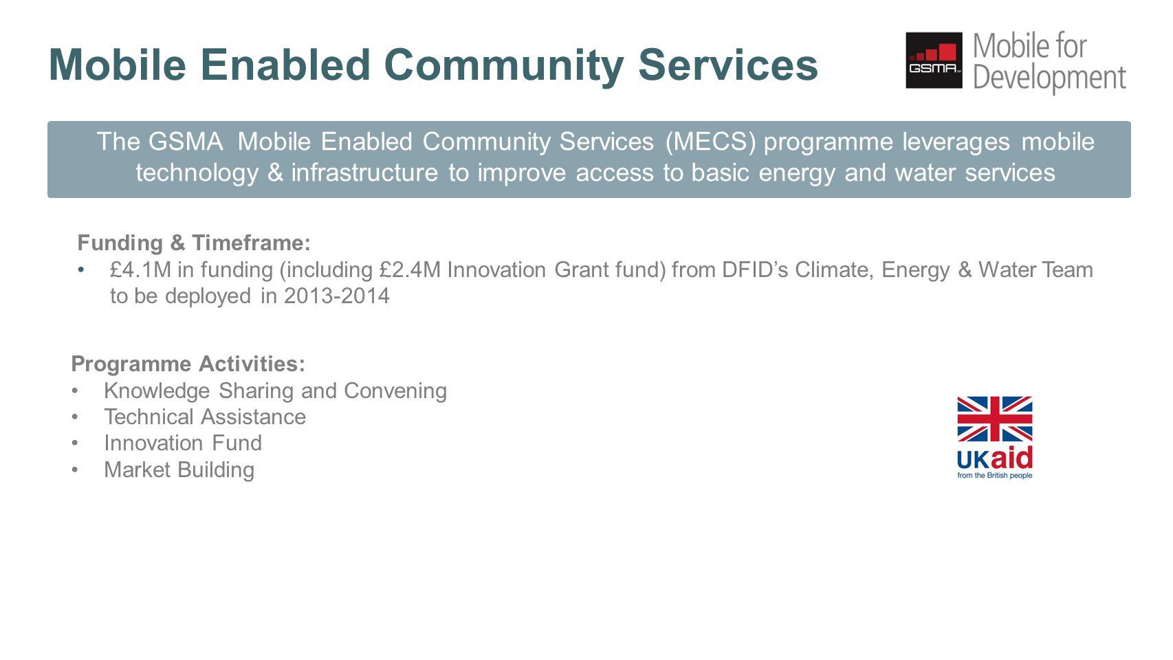 The MECS Market Opportunity & Innovation Fund