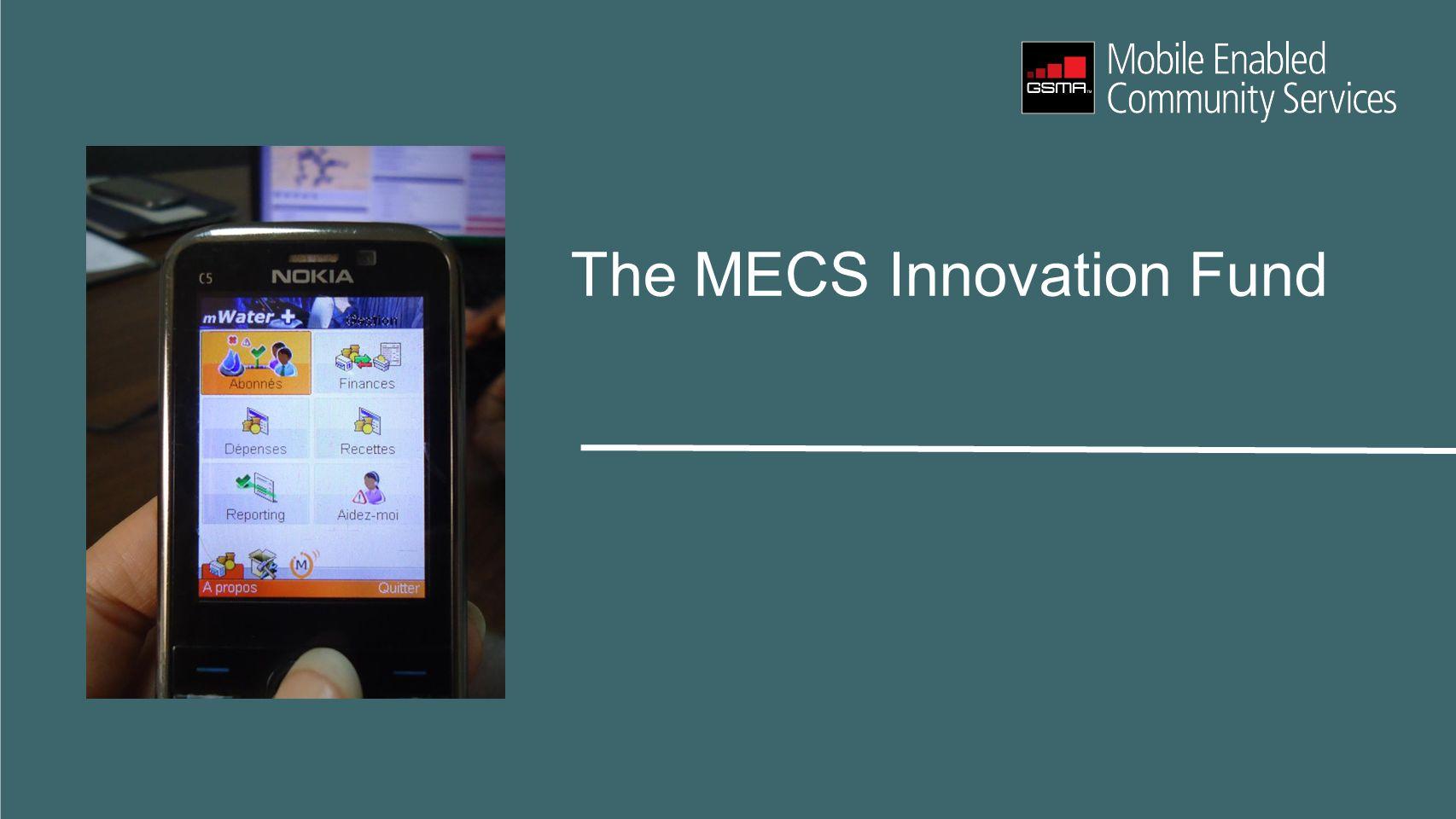 The MECS Innovation Fund