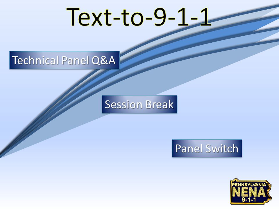 Technical Panel Q&A Session Break Panel Switch