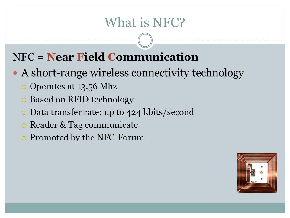 What is NFC.