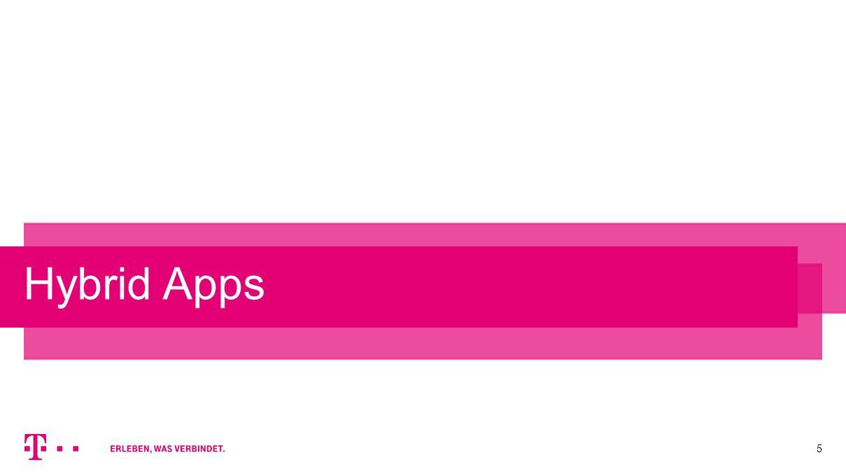 5 Hybrid Apps