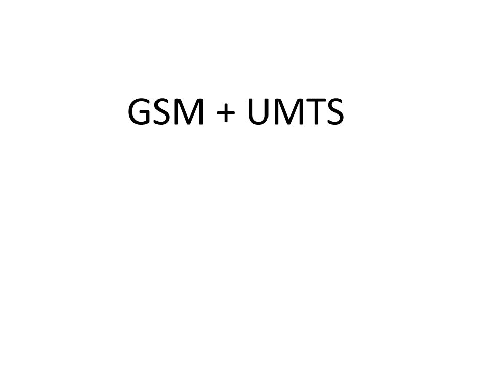 Gausssian Minimum Shift Keying (GMSK) Constant envelope modulation, all the information is in the phase GSM
