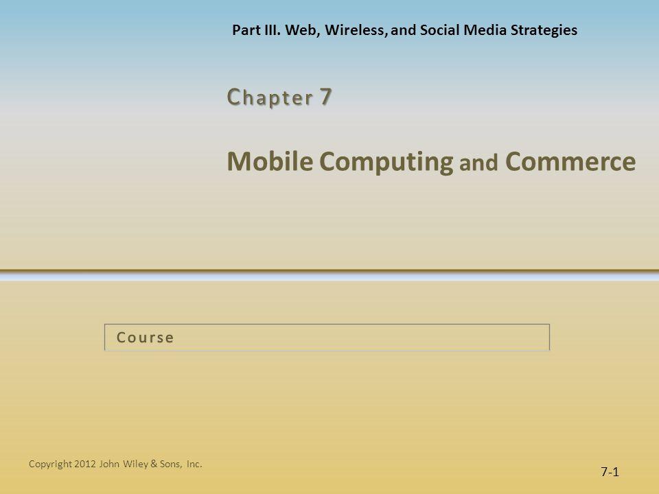 7-22 Figure 7.13 NextBus operational model IT at Work 7.4 NextBus: Superb Customer Service Copyright 2012 John Wiley & Sons, Inc.