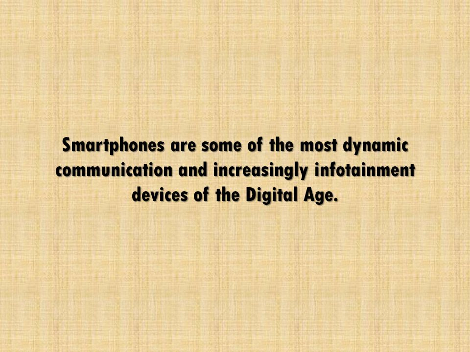 The Ugly Side of Smartphone Unleashing the potential negative effect of Smartphone