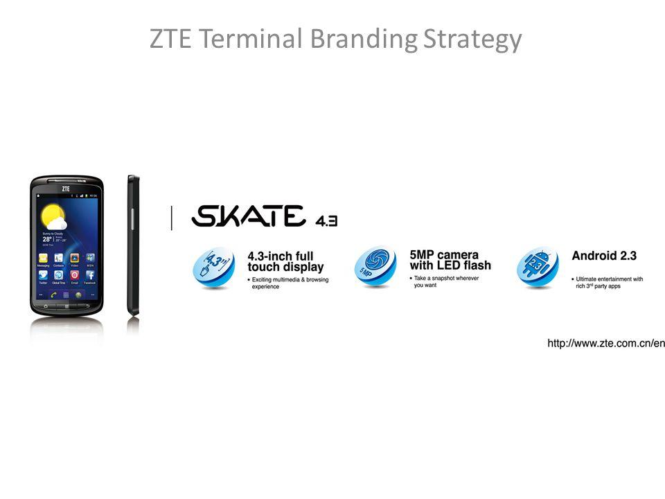 ZTE Terminal Branding Strategy