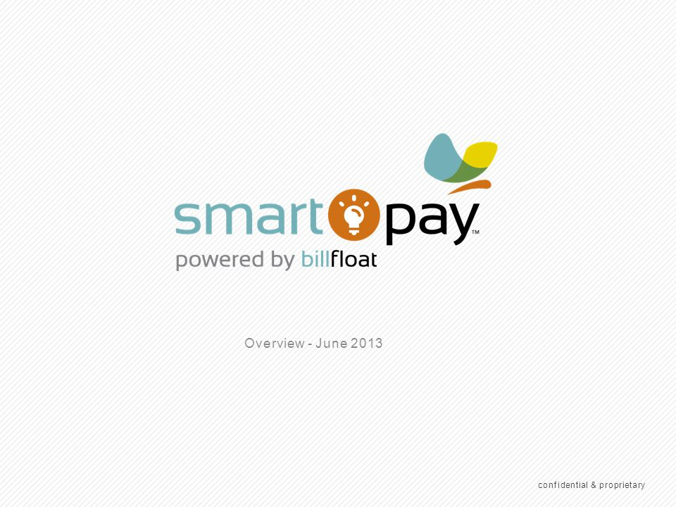 1 WHAT IS SMARTPAY.