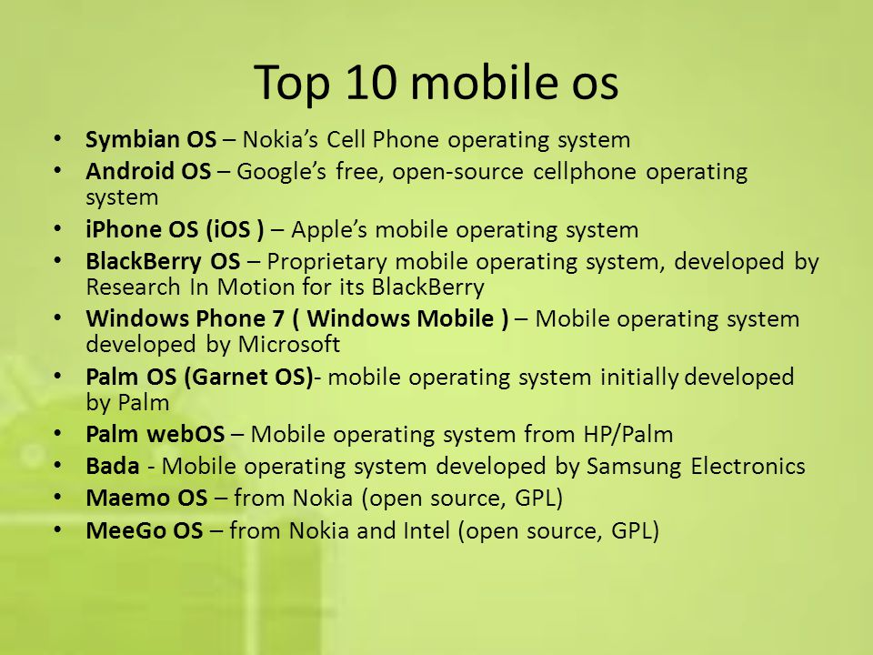 introduction What is the Open Handset Alliance (OHA)? It s a consortium of several companies