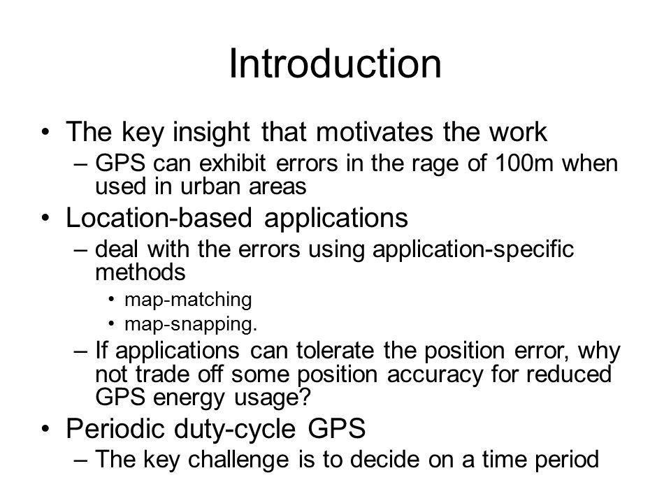Evaluation – BPS