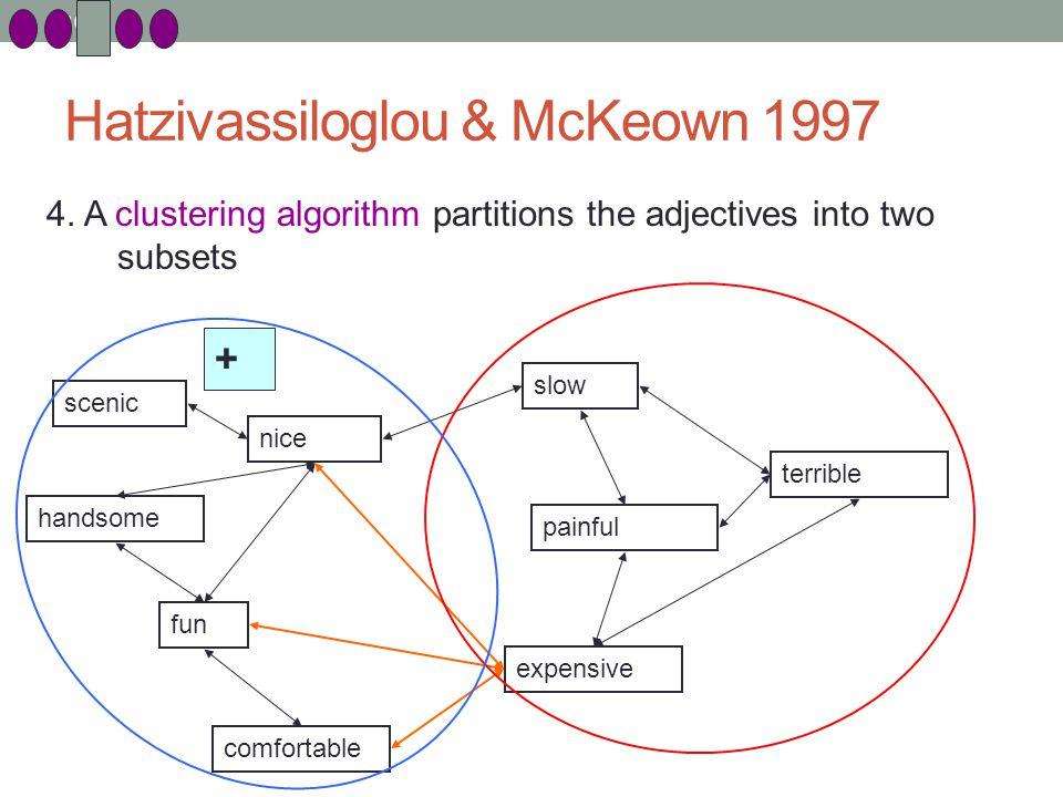104 Hatzivassiloglou & McKeown 1997 4.