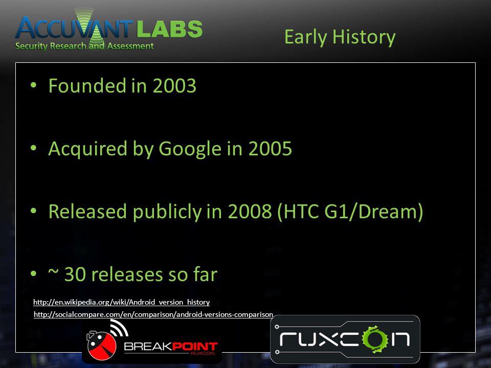 Version History VersionDateCode name 1.0Sep 23, 2008Apple Pie.