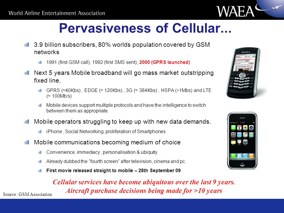 Pervasiveness of Cellular...