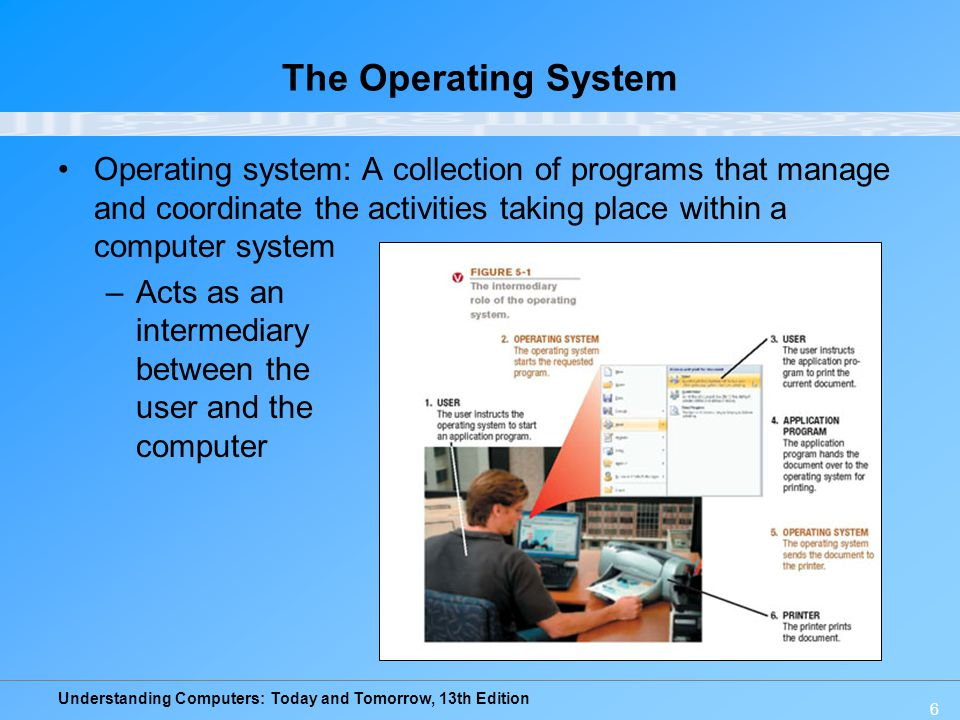 Understanding Computers: Today and Tomorrow, 13th Edition 37 Operating Systems for Mobile Phones and Other Devices