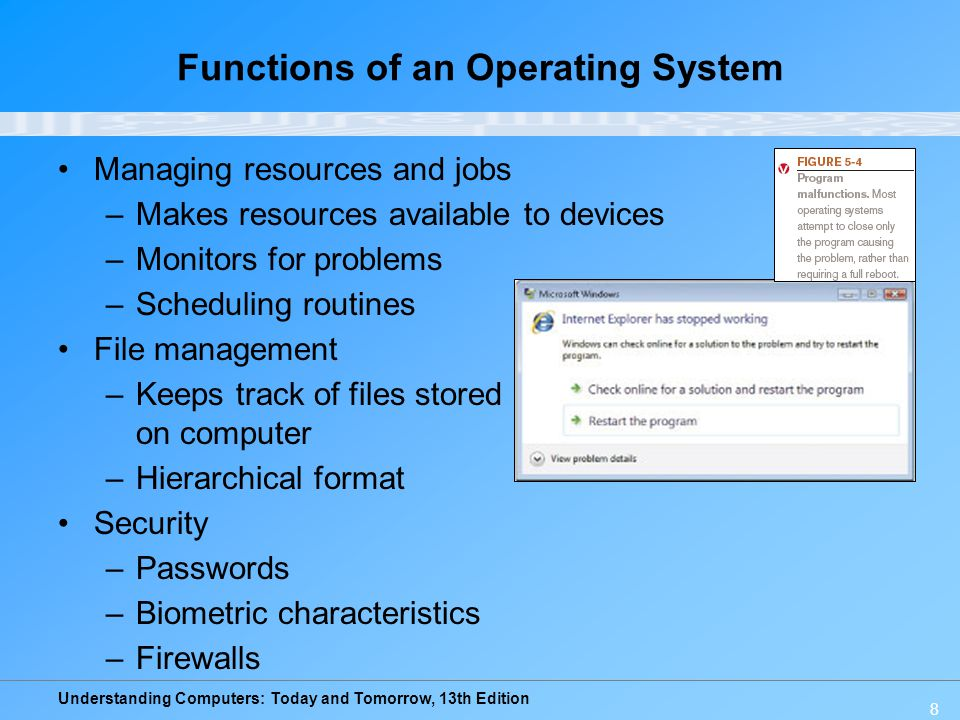 Understanding Computers: Today and Tomorrow, 13th Edition 29 Mac OS