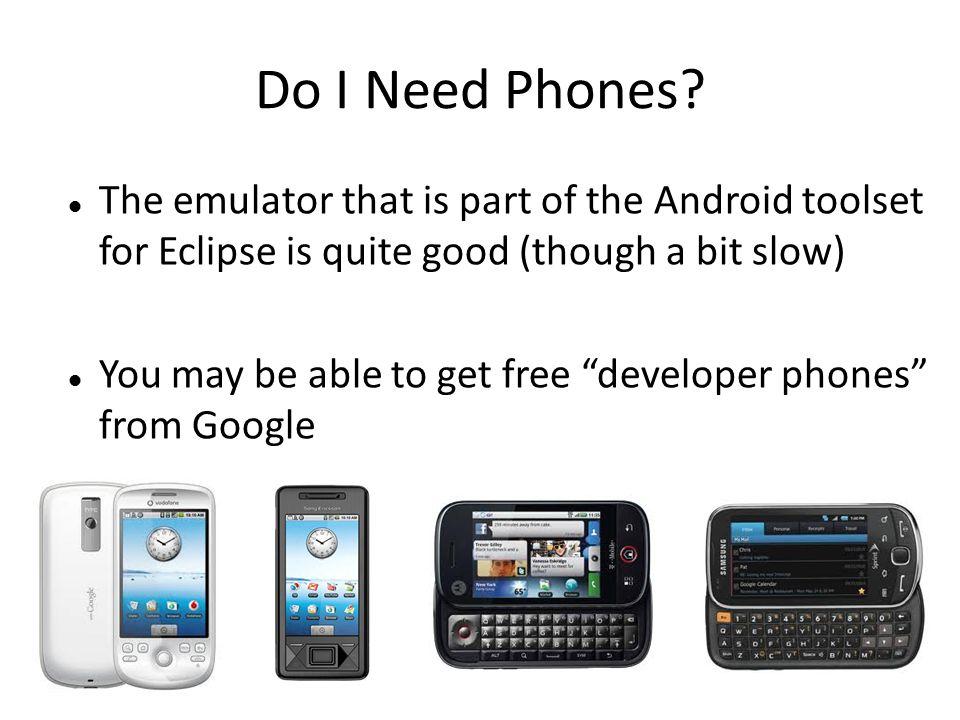 Do I Need Phones.