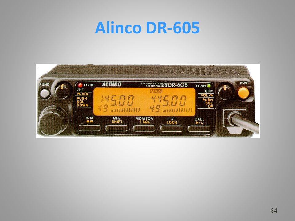 Alinco DR-605 34