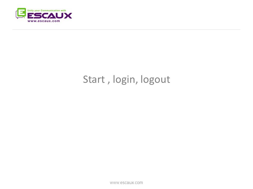 Report a problem www.escaux.com Click to open bug report window Select the impacted call Describe the problem