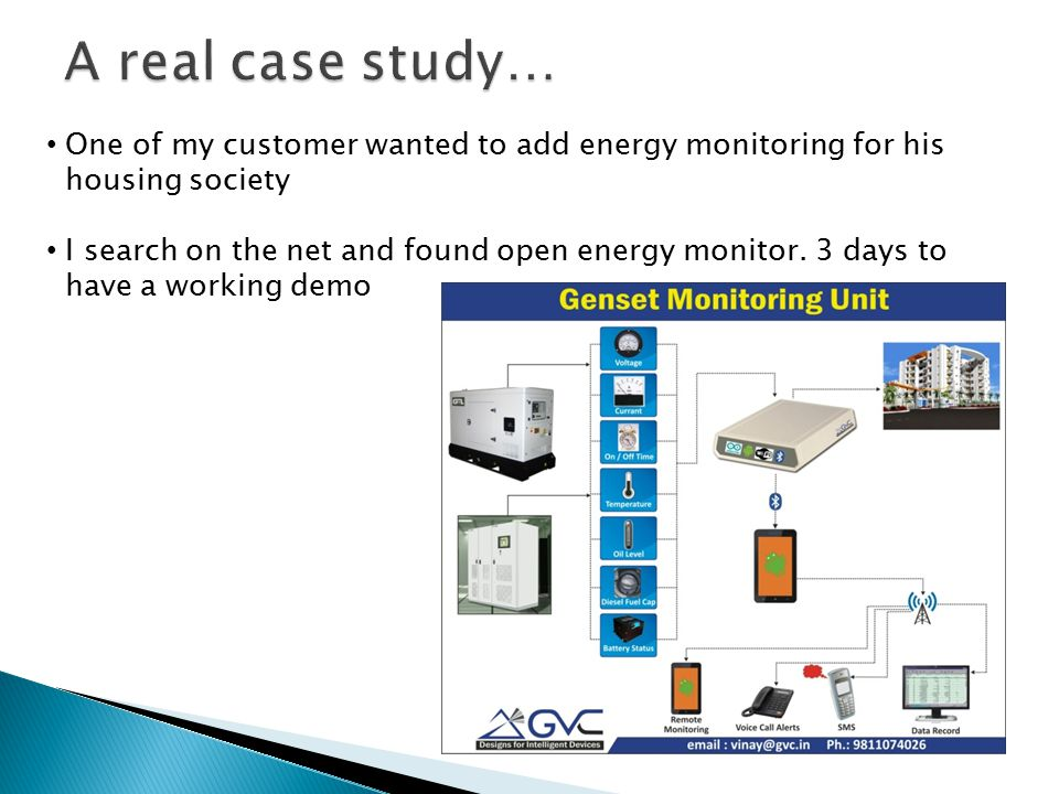 One of my customer wanted to add energy monitoring for his housing society I search on the net and found open energy monitor.